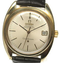 Omega Constellation Chronometer Date Cal 564 Antique Self-winding Mens Used