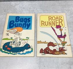 1971 Xerox Publications Warner Bros Bugs Bunny And Road Runner Comic Books Vintage