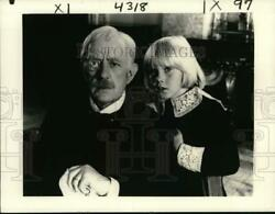 1981 Press Photo Alec Guinness And Ricky Schroder Star In Little Lord Fauntleroy
