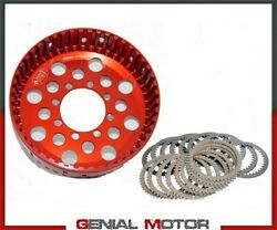Dry Basket And Clutch Plate Set Z48 For Oem Clutch Stm Ducati