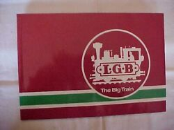L.g.b. The Big Train Antique Illustrated Collector's Guide Model Trains