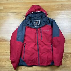 Red Free Country Large Jacket Coat Parka Mountain Extreme Series Mens
