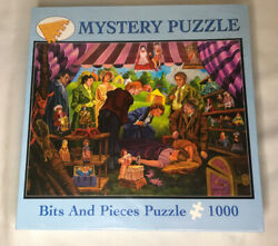 Jigsaw Puzzle 1000 Pieces Carnival Murder Mystery Doll Museum And Story Complete