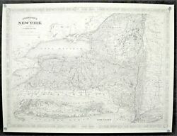 Lot Of 6 Quality 19th Century Reproduction Maps Jonathan Sheppard New York East