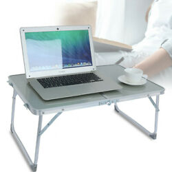 Large Bed Tray Foldable Portable Multifunction Laptop Desk Lazy Laptop Table ☀