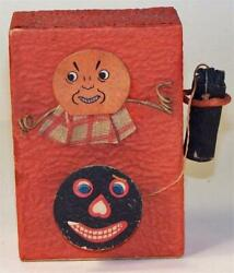 Pre-war Japan Old Fashioned Telephone Halloween Candy Container