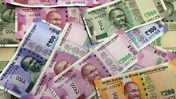 India Rupees 50000 Mix Denominations - Good Condition - Free Usa Shipping
