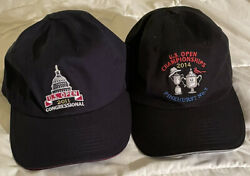 Usga Golf Hats - 2011 And 2014 Us Open Hats - Pinehurst Nr 2 And The Congressional