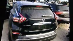 15 16 17 18 Nissan Murano Trunk/decklid/hatch Free Local Delivery Black