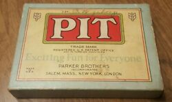 Vintage Pit Parker Bros Card Game Bull And Bear Edition
