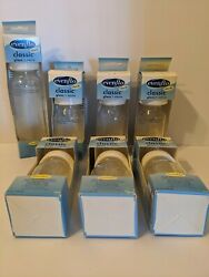 6 Evenflo 4 Oz And 1 8 Oz - Classic Real Glass Baby Bottles Bpa Free. New
