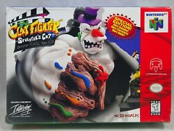 Clay Fighter Sculptorand039s Cut Nintendo 64   N64 Authentic Box Only Very Rare