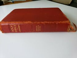 Oxford 1945 Kjv Scofield Reference Bible-red Moroccan Leather Lined - Free Ship