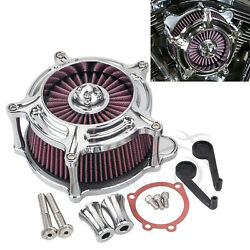 Motorcycle Air Cleaner Red Intake Filter For Harley Heritage Softail Night Train