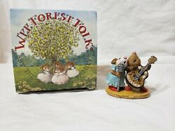 Wee Forest Folk Stand By Your Mole Miniature Mouse And Mole First Edition Dancing