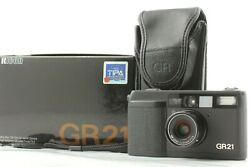 【mint+++ In Box Lcd Works】ricoh Gr21 35mm Point And Shoot Film Camera From Japan