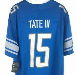 Nike Golden Tate Iii Detroit Lions Game Jersey 850896 485 Mens Size Small Blue