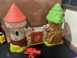 Mike The Knight Glendragon Castle Playset Fisher Price Incomplete