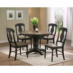 Iconic Furniture Company 5-piece Antique Grey Napoleon Round N/a 5-piece Sets