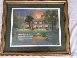 Andrew Warden Seriolithograph River Cottage 396/750 Limited Edition