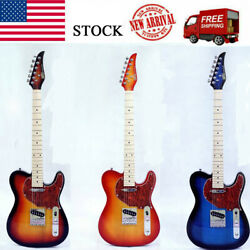 New Electric Guitar Basswood Body Maple Neck Maple Fingerboardgood Quality@us