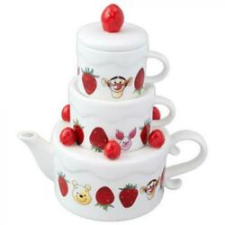 Winnie The Pooh Pot And 2 Cups Afternoon Tea Produce Tokyo Disney Resort Limited