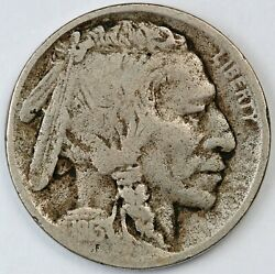 1913-d United States Buffalo 5c Five-cent Nickel - Vg Very Good - Type 2