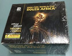 2010 Panini Fifa World Cup South Africa Soccer Factory Sealed Box W/ 36 Packs 2