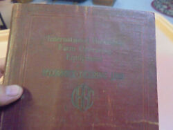 Vintage 1930and039s Ih Mccormick Deering Line Of Farm Operating Equipment Catalog