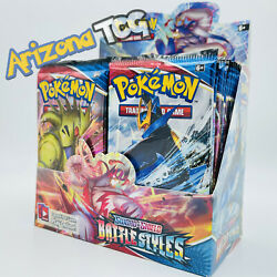 10 Battle Styles Booster Pack Lot - From Factory Sealed Pokemon Booster Box