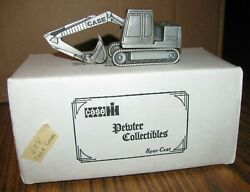 Case 688 Crawler Excavator Pewter Toy 143 Spec Cast Collectible Zjd30 Lted 1988