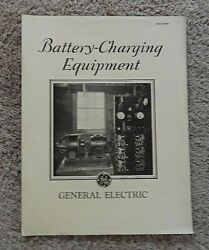 1929 General Electric Co Battery Charging Equip Trucks Tractor Train Engineering