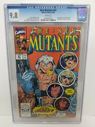 New Mutants 87 Cgc 9.8 Wp Marvel 1990 1st Appearance Of Cable Liefeld Mcfarlane