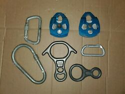 Cmi Rescue Climbing Rappelling Caving Pulleys Rescue 8 Carabiners 8 Ring Lot