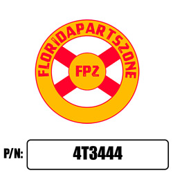4t3444 - Scraper Blade 6 Fits Caterpillar With Free Shipping