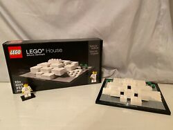 Lego Architecture Lego House 4000010 Instructions And Box With Minifigure