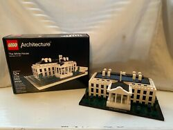 Lego Architecture The White House 21006 Instructions And Box Retired