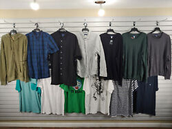 New Lot Of 13 Mens Size 2xl 2x Large Tank Top Dress T Shirts Polo Sweater 194
