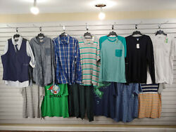New Lot Of 13 Mens Size 2xl 2x Large Tank Top Dress T Shirts Polo Sweater 198