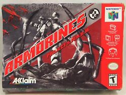 Armorines Project Swarm Nintendo 64 | N64 Authentic Box Only