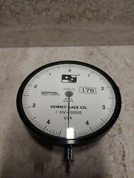 Dorsey Metrology Gage Co. 419-005 Dial Indicator .00005andrdquo Jeweled