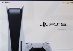 💜sony Playstation 5 Console - Bluray Disc Version Brand New Ps5 Console White🌹