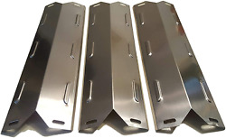 3 Set Stainless Steel Heat Plates For Kenmore Gas Grill Replacement Parts Bbq