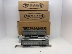 Williams Brass No.4001 New York Central Sharknose Ab Diesel Set O Gauge Used 3r
