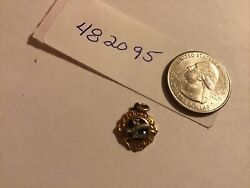 10k Yellow Gold 2.1 Grams Lions Club Past President Pendant Charm Converted