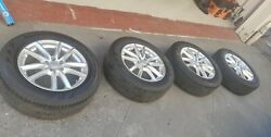 19 Land Rover Range Rover Rims And Tires, In Perfect Condition, No Dents Or...