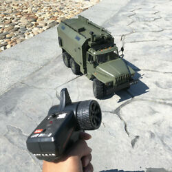 Wpl Rc Car B36 Ual 1/16 Rtr 2.4g 6wd Electric Off-road Military Truck Crawler Us