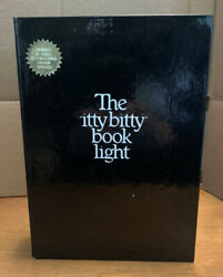 Zelco Vintage 1982 The Itty Bitty Book Light, Works, In Original Box