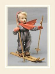 R John Wright The Hummel Skier Collectible Doll