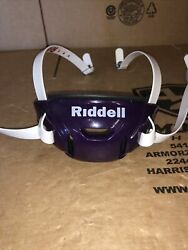New Large Riddell Speed/speed Icon Hard Cup Chin Strap